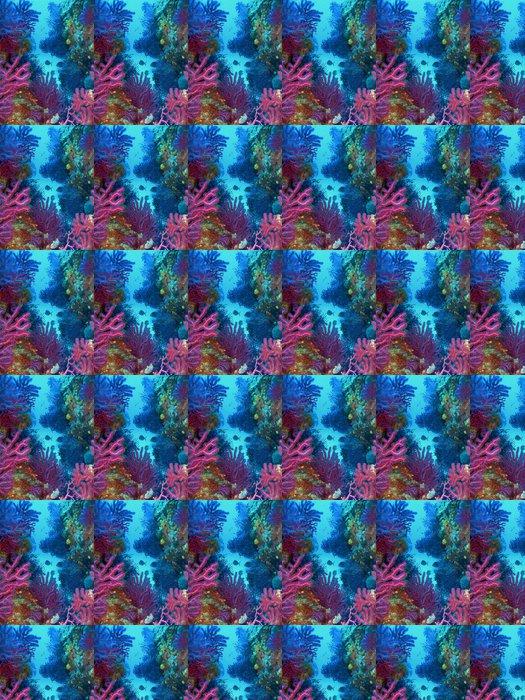 Vinylová Tapeta Podvodní krajina - Podvodní svět