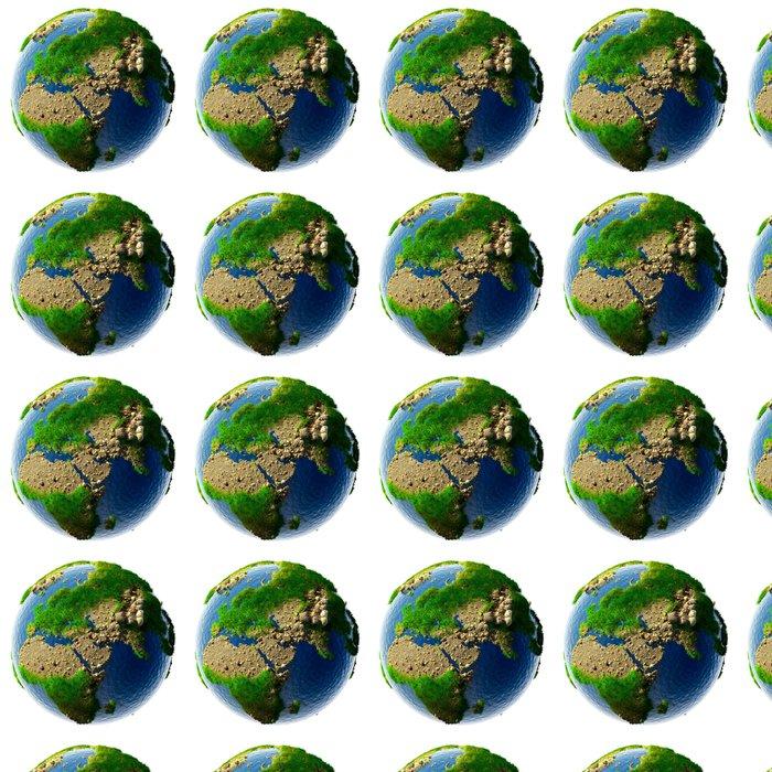 Vinylová Tapeta Podrobná koncepce povaha Zemi v miniaturní - Meziplanetární prostor