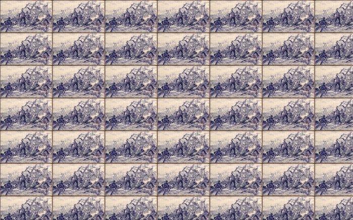 Vinylová Tapeta Portugalské dlaždice - Jiné