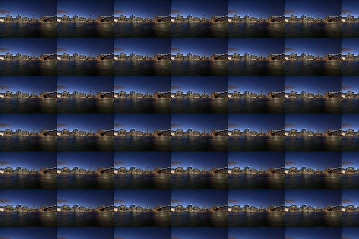 Vinylová Tapeta New York City panorama w Brooklyn Bridge - Brooklynský Most