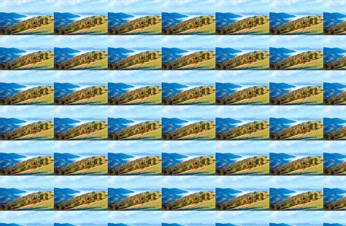 Vinylová Tapeta Podzim horský les - Roční období
