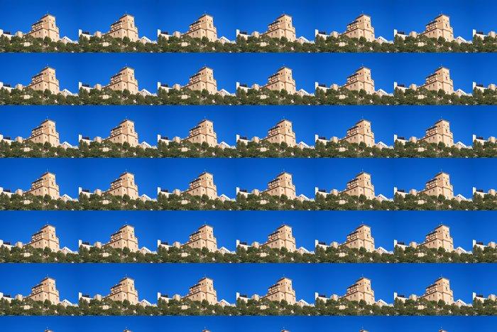 Vinylová Tapeta Bazilika svatého Kříže a stěny Caravaca Murcia - Veřejné budovy