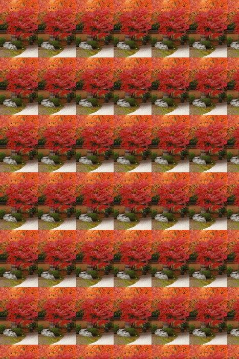 Papier Peint à Motifs Vinyle Le Japon à l'automne - Thèmes
