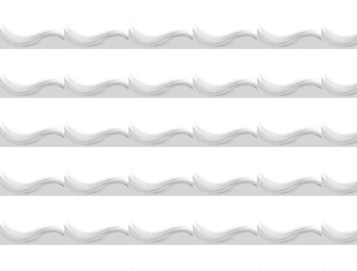 Vinylová Tapeta Abstract zvlněná šedé pozadí - Abstraktní