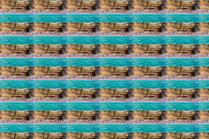 Vinylová Tapeta Jižní Ameriky Lachtani na dovolené na skalách Ballestas - Témata