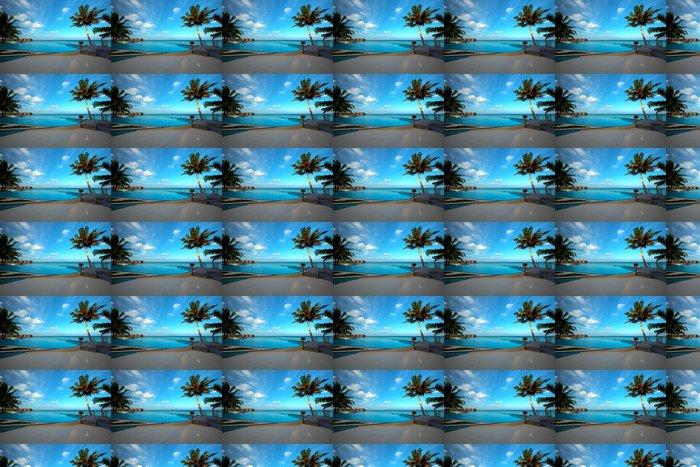 Vinylová Tapeta Infinity bazén na Maledivách! - Prázdniny