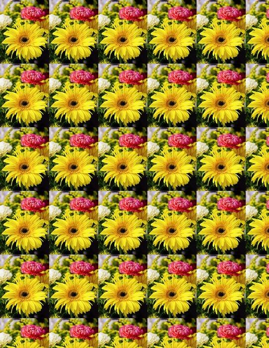 Vinylová Tapeta Žlutá gerbera. - Národní svátky
