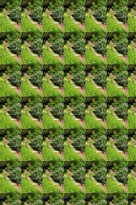Vinylová Tapeta Zahradní kroky přírodního kamene - Veřejné budovy