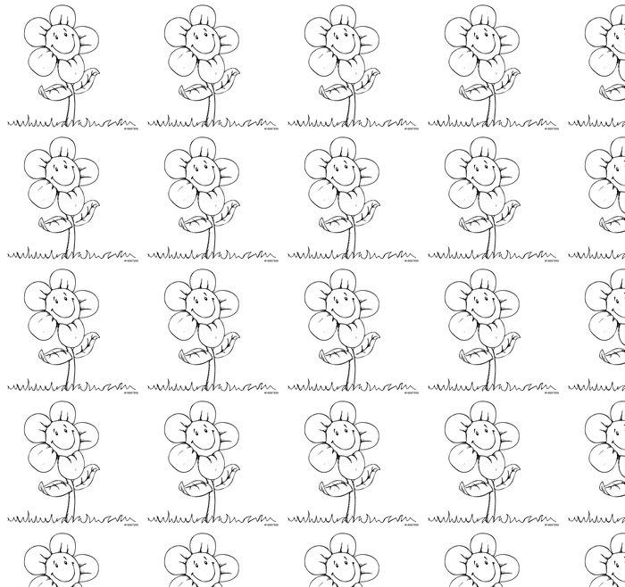 Vinylová Tapeta Květina, louka, léto, šťastný, květ, - Národní svátky