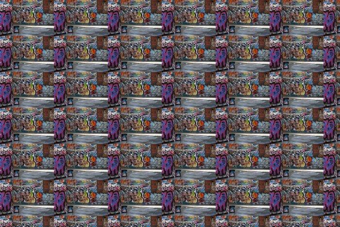 Vinylová Tapeta Graffiti Alley - Umění a tvorba