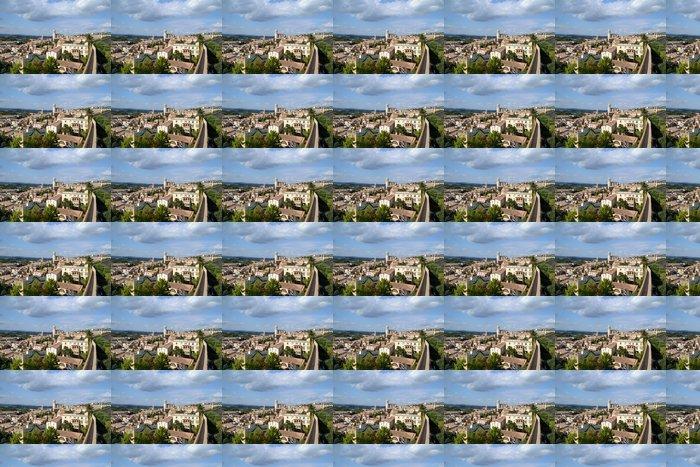 Vinylová Tapeta Pohled na město Girona od stěny - Evropa
