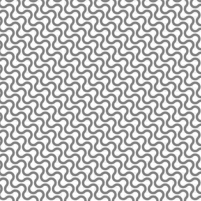 Vinylová Tapeta Bezešvé Černobílý vzor - Pozadí