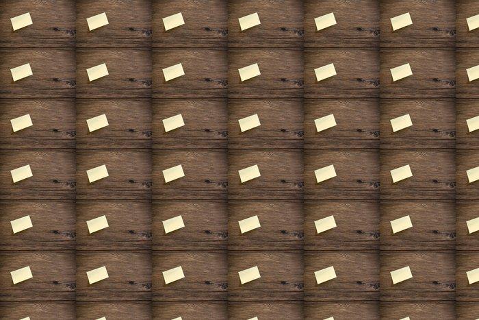 Vinylová Tapeta Post il na dřevěném pozadí - Pohlednice