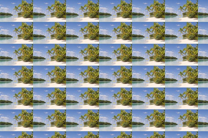 Vinylová Tapeta One Foot Island auf Aitutaki, Cookovy ostrovy - Oceánie