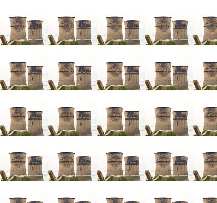 Vinylová Tapeta Sheffield Chladicí věže - Industriální a obchodní budovy