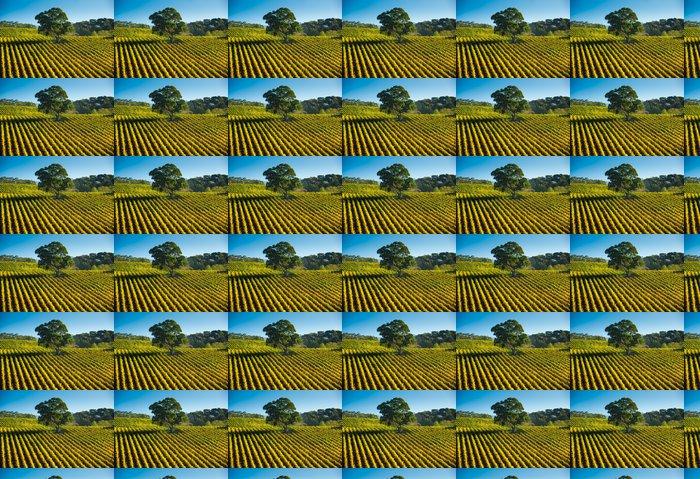 Vinylová Tapeta Vinnou révou - Prázdniny