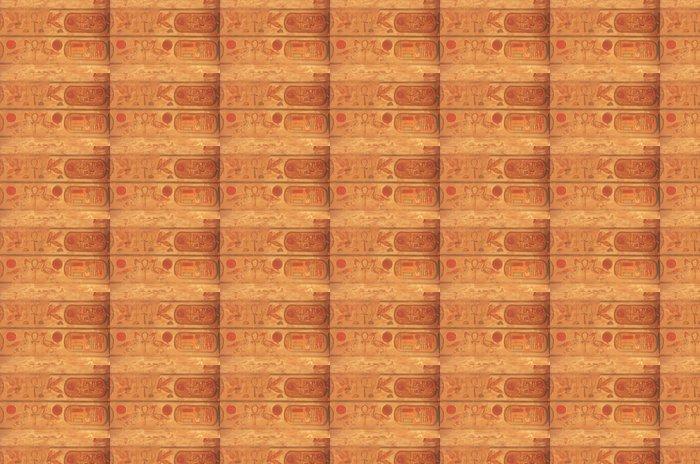 Vinylová Tapeta Barevné stropní řezbářství, Karnak chrámový komplex, Luxor - Afrika