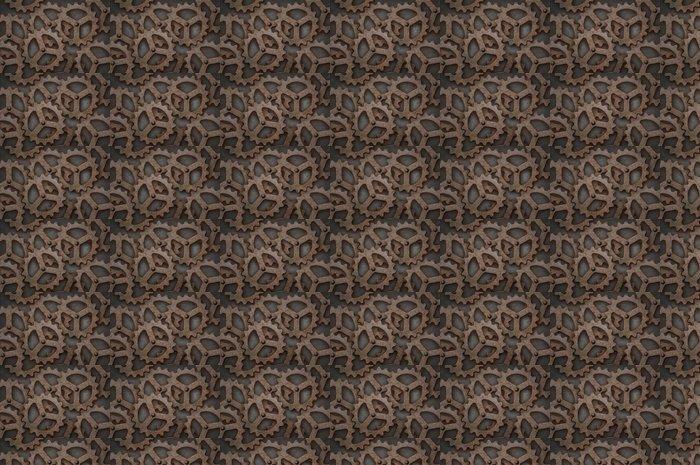 Vinylová Tapeta Zoufalý sebe zapadající ozubená kola - Struktury