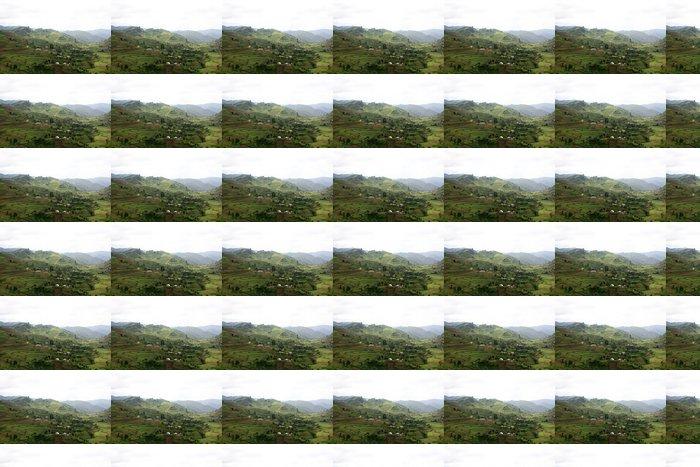 Vinylová Tapeta Rice Fields v Ugandě, v Africe - Venkov