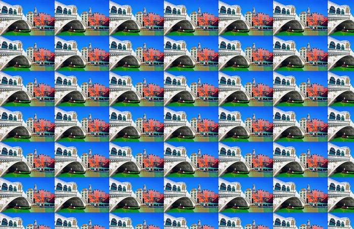 Vinylová Tapeta Slavný Rialto můstek s Gondola v Benátkách v Itálii - Evropská města