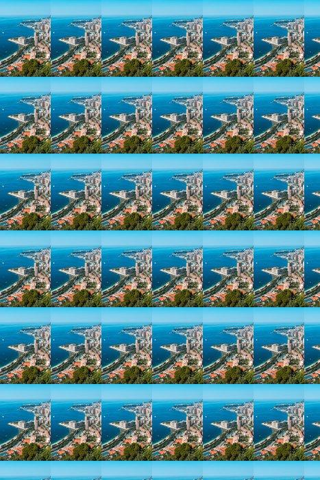 Vinylová Tapeta Monte Carlo pohled na letní den - Jiné