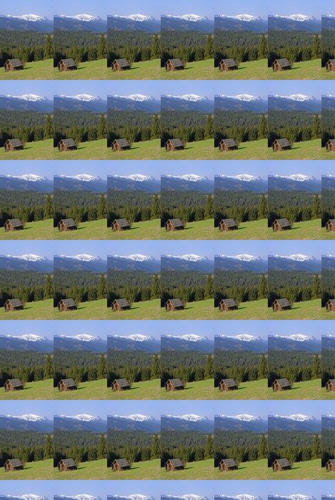 Vinylová Tapeta Horská chata v Tatrách - Hory
