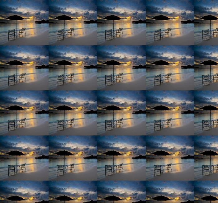 Vinylová Tapeta Pláž u St Lucia - Voda