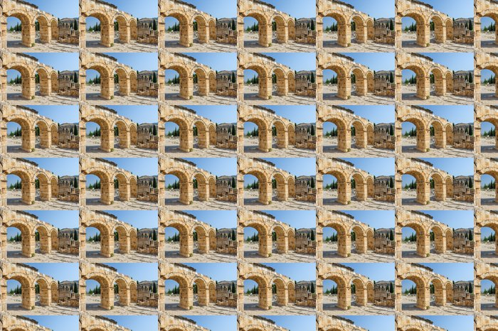 Vinylová Tapeta Zřícenina Hierapolis, Pamukkale nyní - Střední Východ