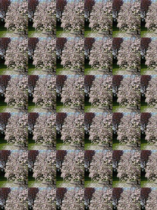 Vinylová Tapeta Magnolienblüte - Životní styl, péče o tělo a krása