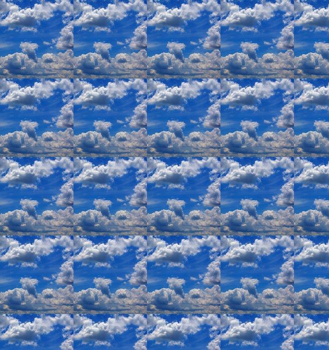 Vinylová Tapeta Amazing modrá obloha pozadí s malými mraky - Nebe