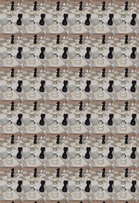 Vinylová Tapeta Venkovní šachy - Hry