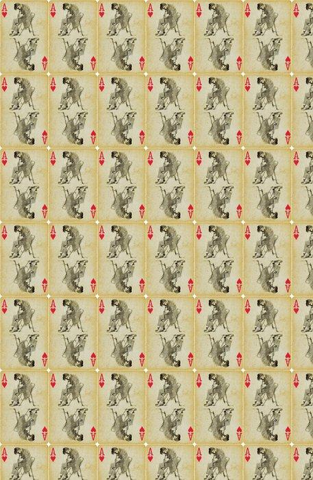 Vinylová Tapeta Eso jazzové, ruční kreslení - Hudba