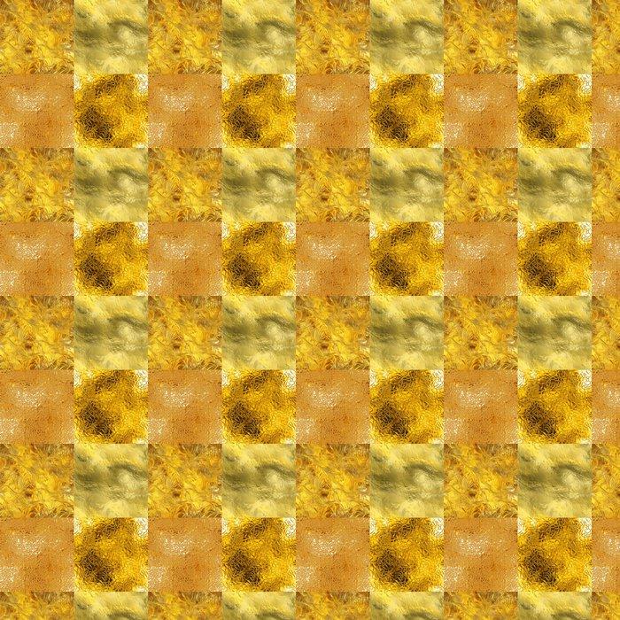 Vinylová Tapeta Bezešvé zlaté textury - Surové materiály