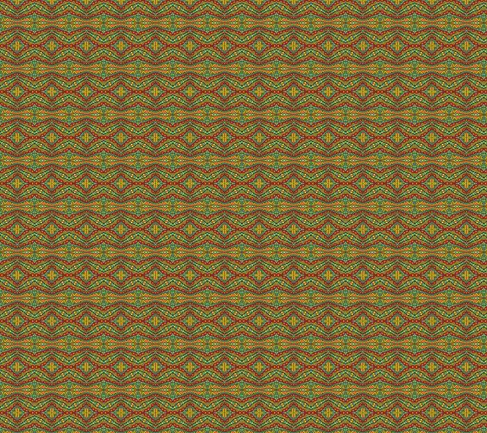Vinylová Tapeta Bright Ethnic Pattern - Pozadí