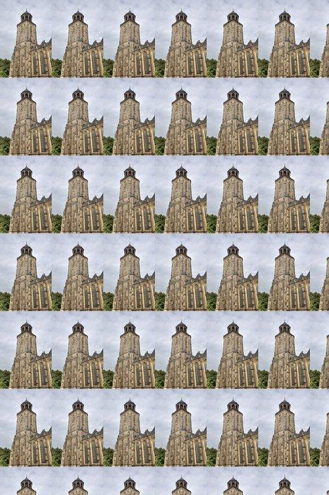 Vinylová Tapeta Věž kostela z Deventer, Holandsko - Evropa