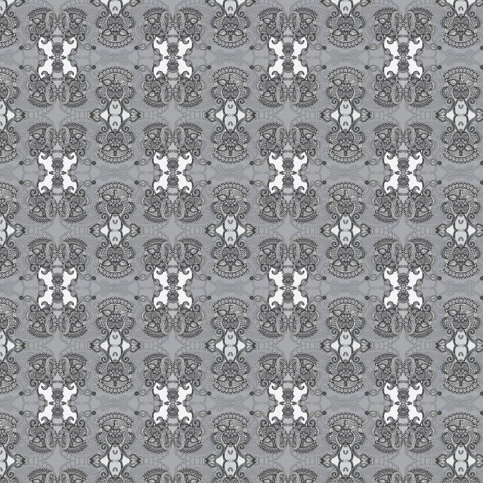 Vinylová Tapeta Okrasné Floral Paisley Šátek - Styly