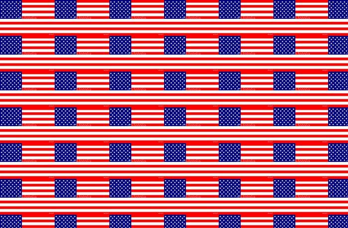 Vinylová Tapeta Americká vlajka - Amerika