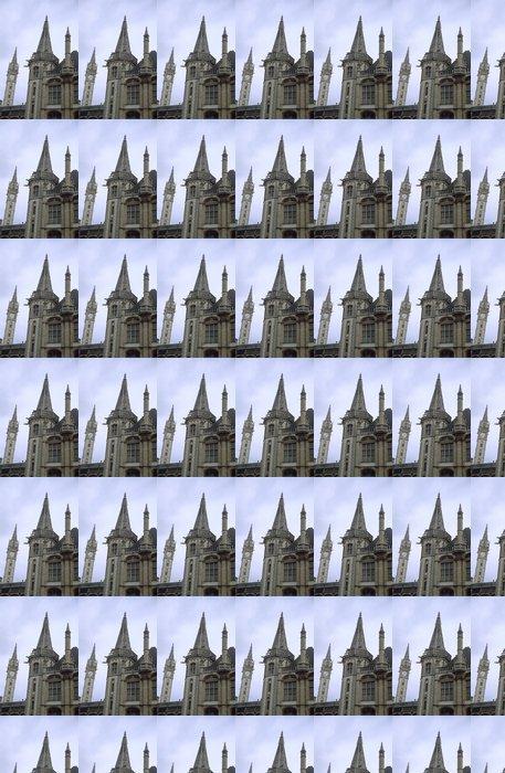 Vinylová Tapeta Gent věž s hodinami - Evropa