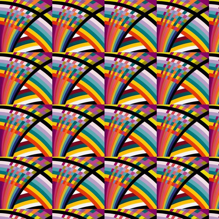 Vinylová Tapeta Barevné abstraktní geometrické pozadí, ilustrace - Abstraktní