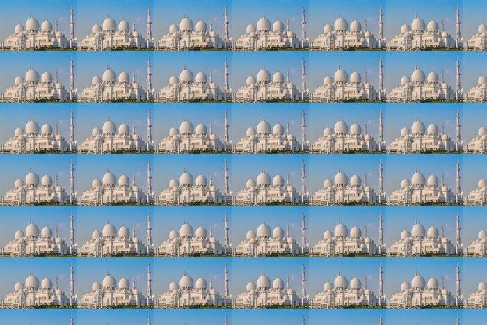 Vinylová Tapeta Sheikh Zayed Mosque v Blízký východ Spojených arabských emirátech s čj - Střední Východ