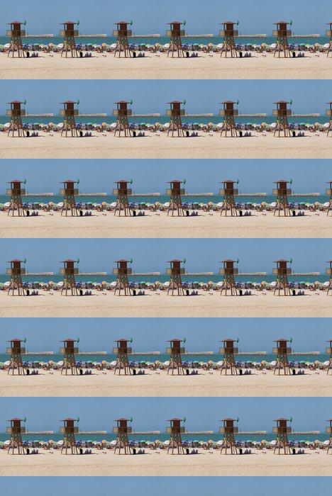 Vinylová Tapeta Los Vigilantes de la playa - Prázdniny