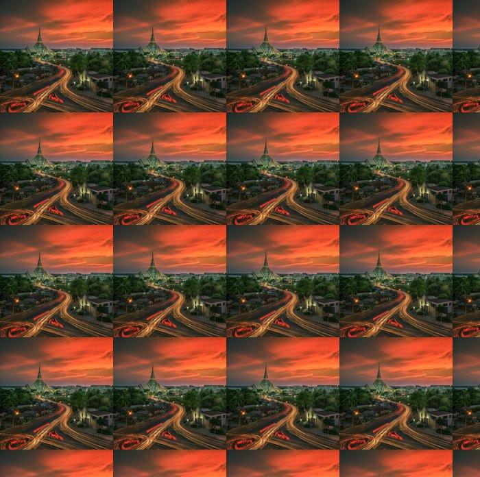 Vinylová Tapeta Wat Sothon - Asie