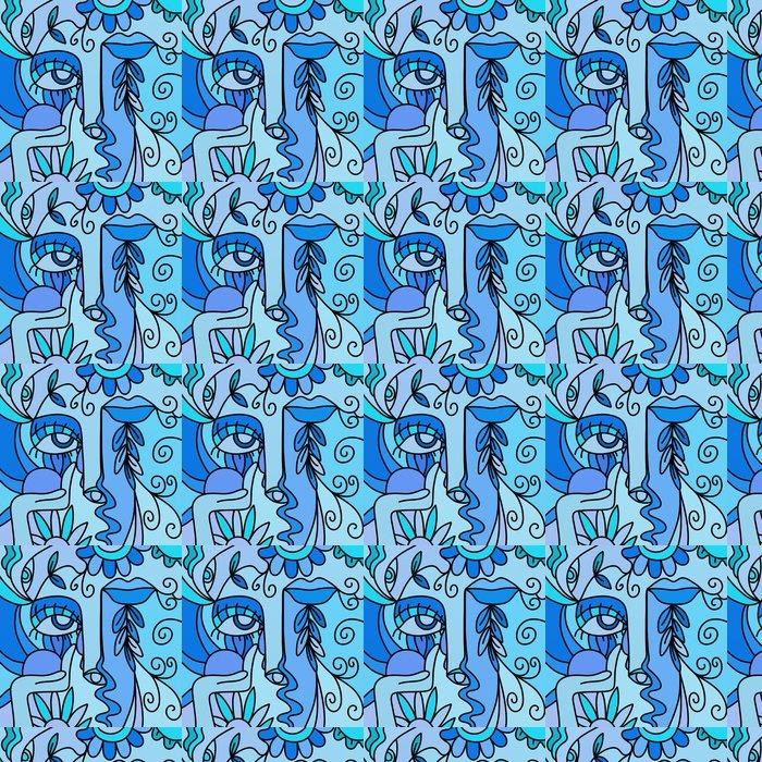 Vinylová Tapeta Astratto blu Viso - Jiné pocity