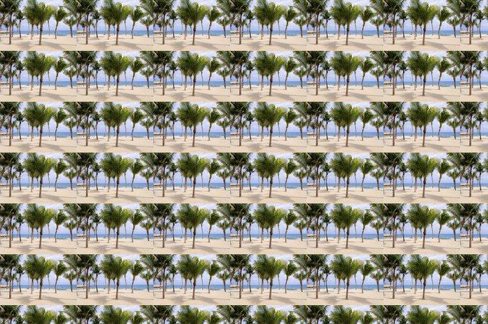 Vinylová Tapeta Palmy na tropické pláži - Palmy