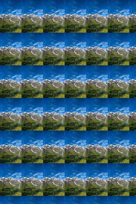 Vinylová Tapeta Krásný výhled na rakouských alpách - Outdoorové sporty