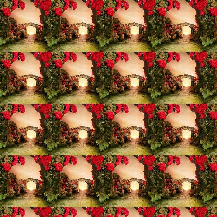 Vinylová Tapeta Romantická zahrada krajina - Jiné pocity