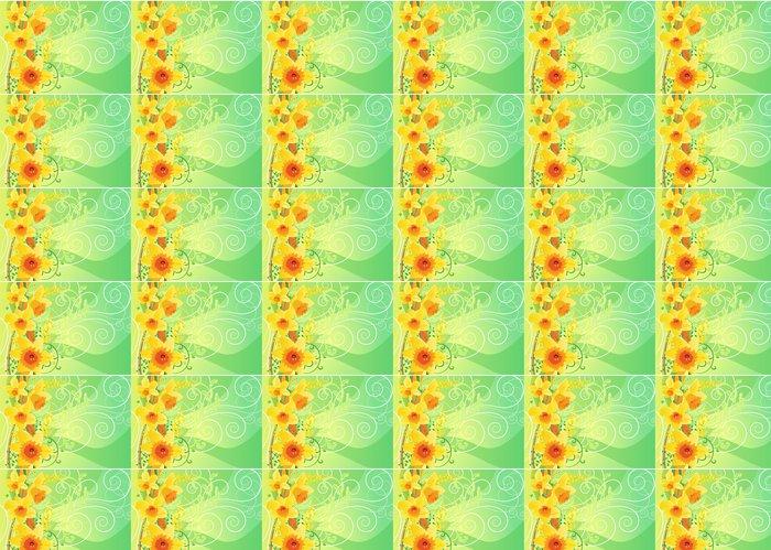 Vinylová Tapeta Floral narcis jarní pozadí - Pozadí