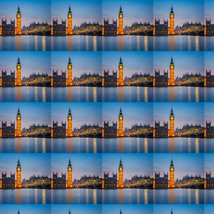 Vinylová Tapeta Big Ben v noci, Londýn - Témata