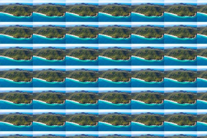 Vinylová Tapeta Whitsunday Island anténa s třásněmi útes - Oceánie