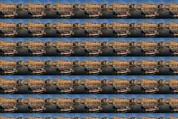 Vinylová Tapeta Saint Tropez a jeho port - Evropa